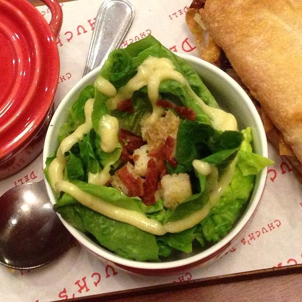 Ceasar Salad @ Chuck's Deli