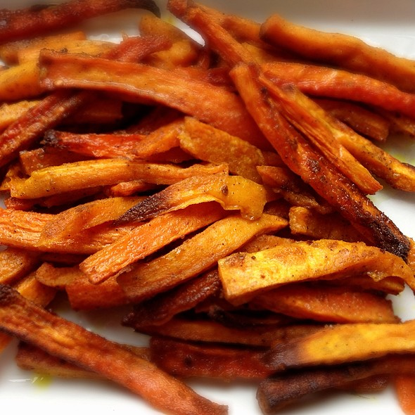 Sweet potato fries @ Homemade by Suzi