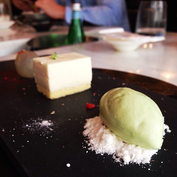 Longjing Icecream And Tofu Cheese Cake
