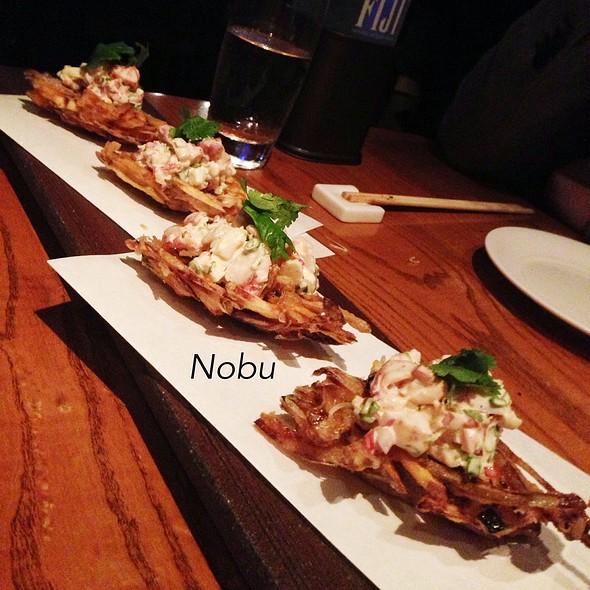 Nobu Style Sashimi Tacos