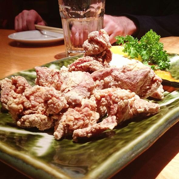 Fried Chiken Plate @ Sushi Zanmai