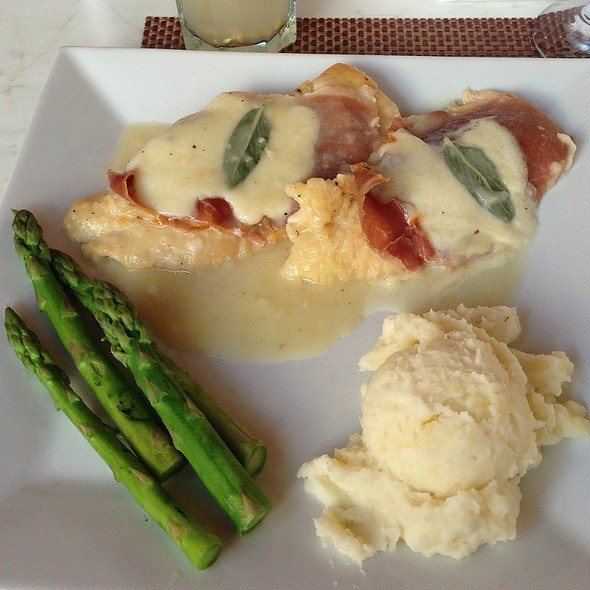 Chicken Saltimbocca - Aura, Miami Beach, FL