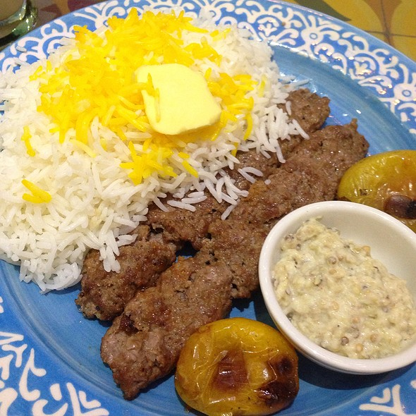 chelo kabab @ Persian Grill