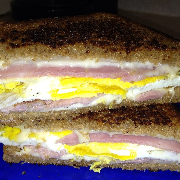 Grilled Ham, Cheese, & Fried Egg Sandwich @ Cooking At Pearl
