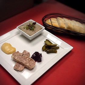 Pate Plate - Bacchus Bar and Bistro, Irvine, CA