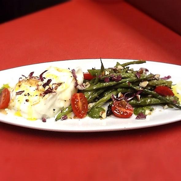 Spring Burrata Salad - Bacchus Bar and Bistro, Irvine, CA