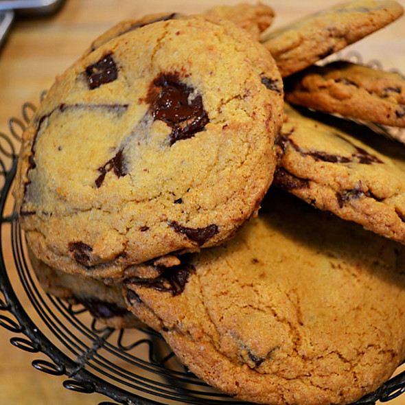 Chocolate Chip Cookies @ Clear Flour Bread Bakery