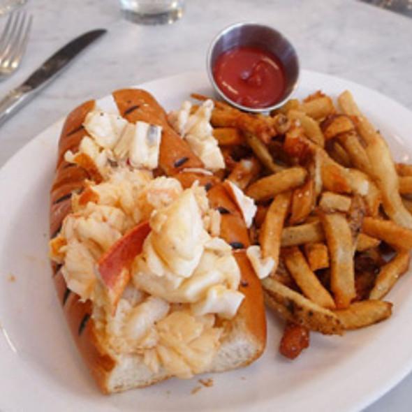 Hot Lobster Roll @ Neptune Oyster