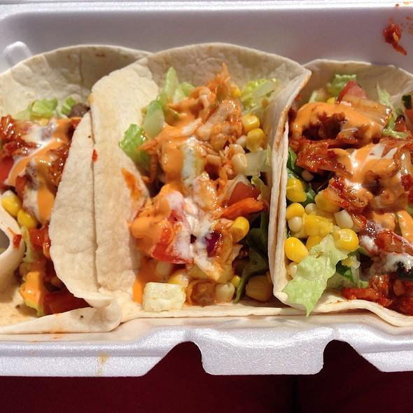 Kimchi Tacos @ Kimchi Korean Grill Food Truck Dc