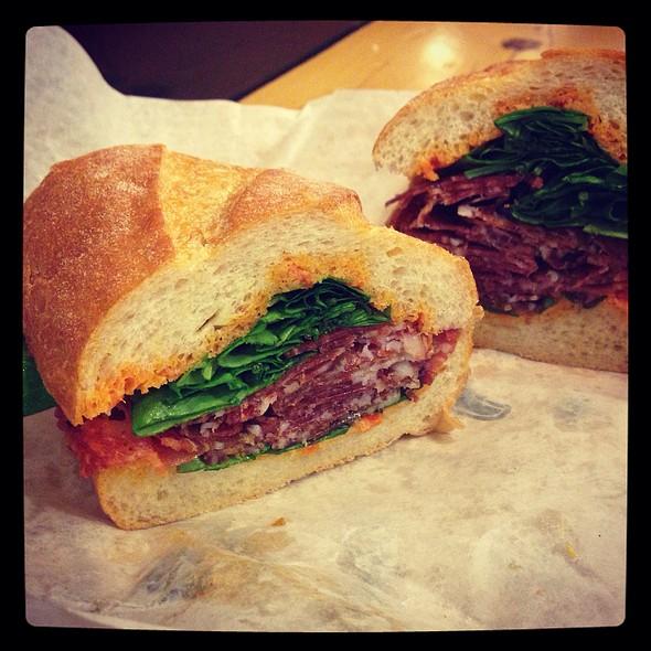 Salume Sandwich @ Boccalone Salumeria