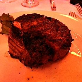 Dry aged bone-in filet