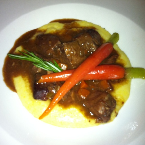 Wild Boar Stew With Rosemary Polenta - Circo, New York, NY