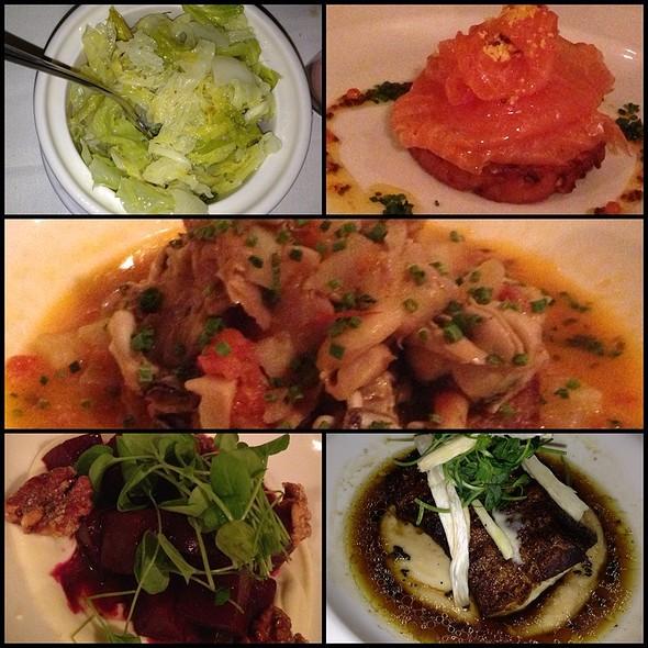 Dinner @ Ouest Restaurant