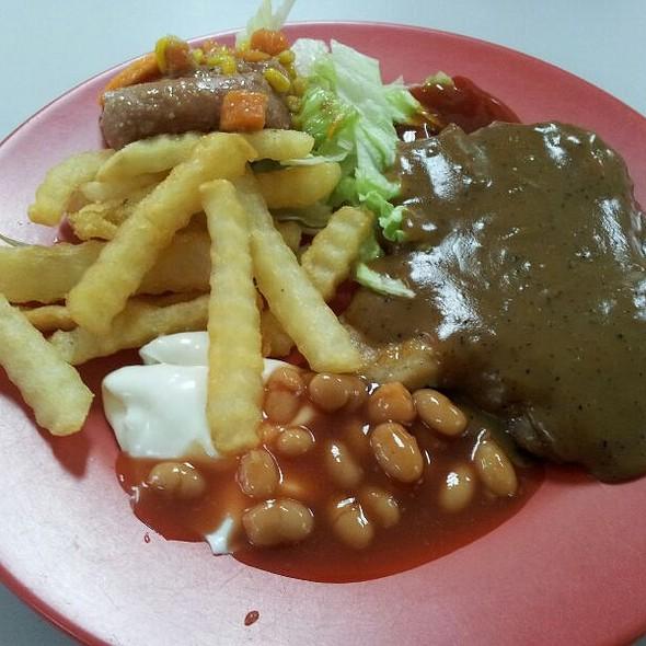 Chicken Chop @ Canteen @ 53 Tuas Crescent