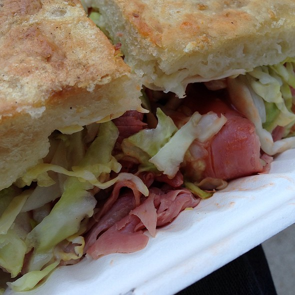 Corned Beef Sandwich @ The Sentinel