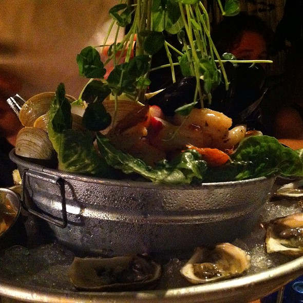 Seafood Tower - The Restaurant at The Surf Lodge, Montauk, NY