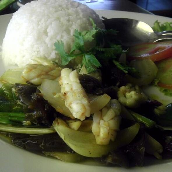 Sauteed Squid in Fine Spices @ Saigon Pho