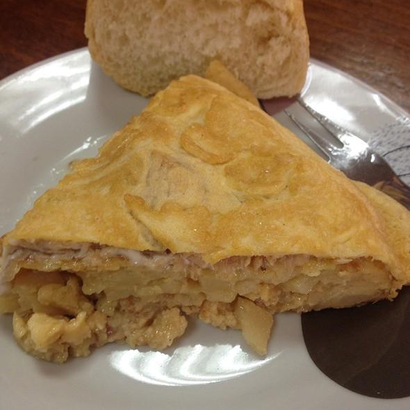 Tortilla De Patata De Bonito @ Cafeteria Facultad De Nautica