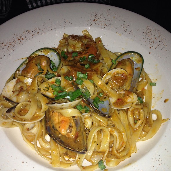 New Orleans Seafood Pasta - JoJo Restaurant and Bar, Washington, DC