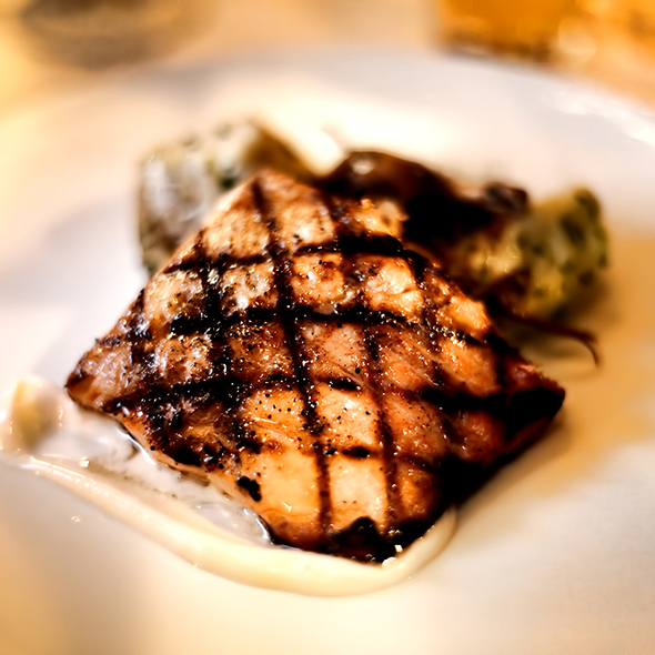 Grilled Salmon - The Heathman Restaurant, Portland, OR