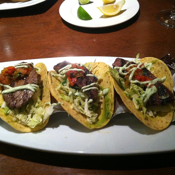 Chimichurri Grilled Steak Tacos - Seasons 52 - Roosevelt Field, Garden City, NY