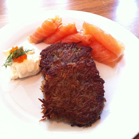 Potato Latkes @ DGS Delicatessen