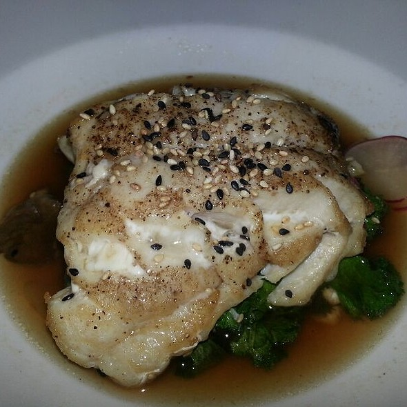 Tile Fish In Mushroom Broth @ SOUTH CITY KITCHEN VININGS