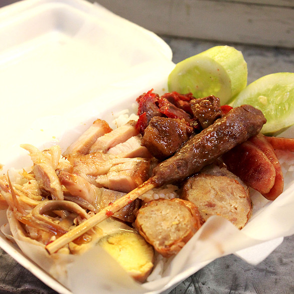Nasi Campur @ Pancoran Market/Pasar Pancoran