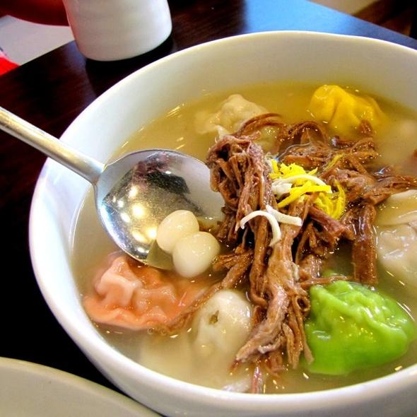 Mandu Dumpling Soup