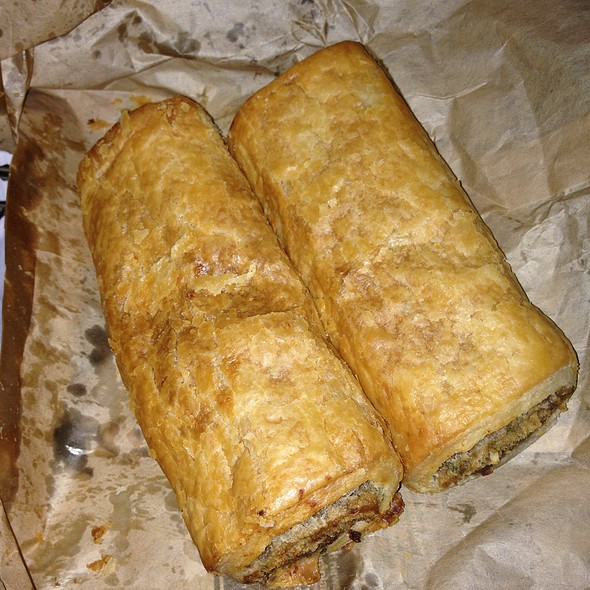 Sausage Roll @ Thompson & Sons Bakery
