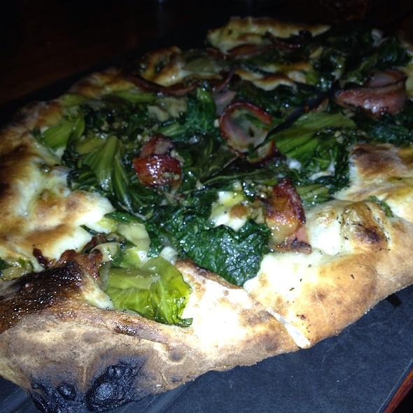 Guanciale, Braised Escarole , Bagna Cuada Pizza @ Serious Pie