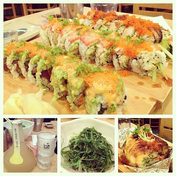 Sushi House Dinner with @dianestagram @justinguyen!