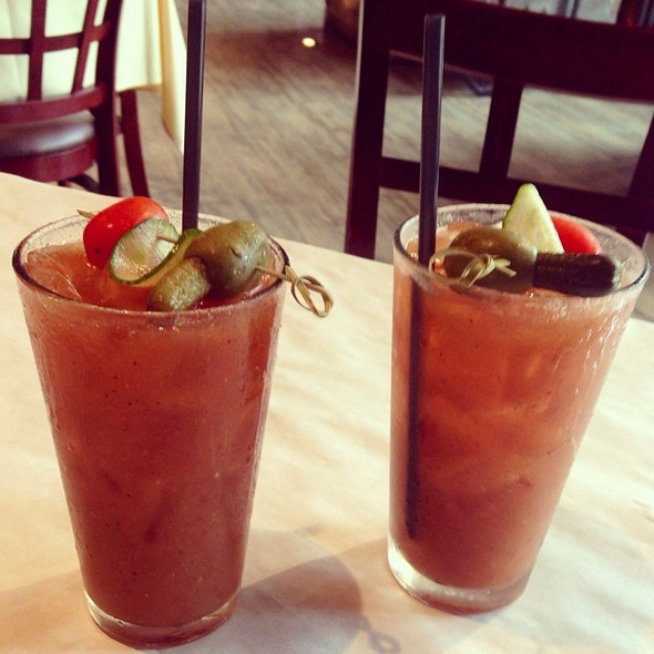 Bloody Mary @ The Rusty Spoon