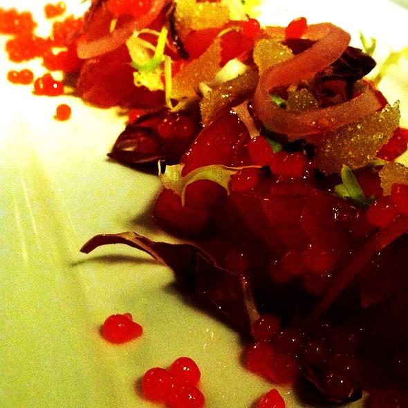 Tuna Crudo - Brasserie Brightwell, Easton, MD
