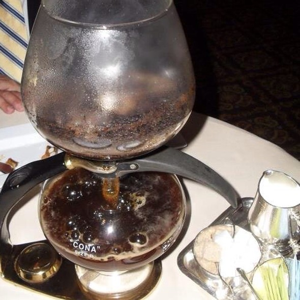 Coffee @ Victoria & Albert's