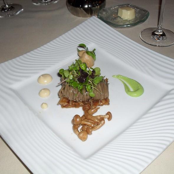 Tsukemono Salad With Soba @ Victoria & Albert's