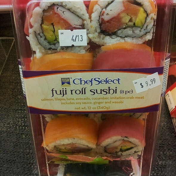 Packaged Sushi Of The Week