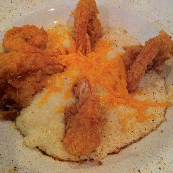 Shrimp and Grits @ Ms. Tootsie's Restaurant Bar Lounge