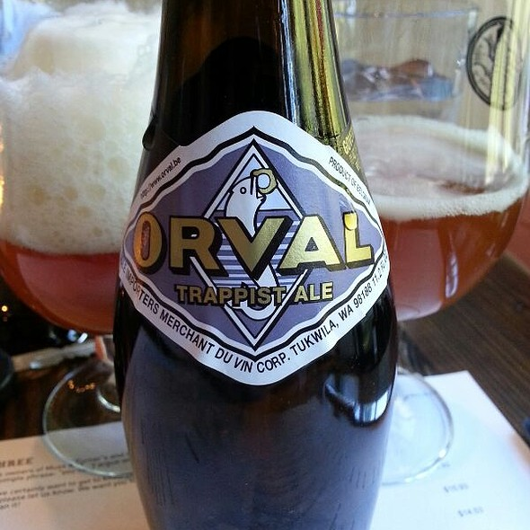 Orval Trappist Belgian Beer @ Local Three Kitchen & Bar