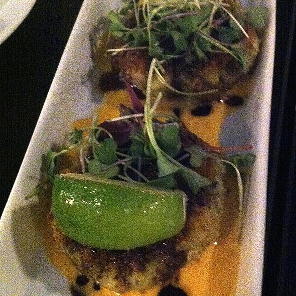 Thai Shrimp Cakes @ Cork & Fork Wine Bar