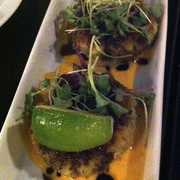 Thai Shrimp Cakes @ Cork & Fork Wine Bar