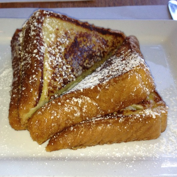 French Toast With Orange Butter