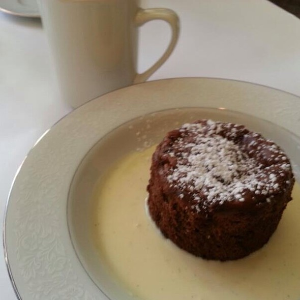 Warm Chocolate Cake - Coquette Cafe -  Permanently Closed, Milwaukee, WI