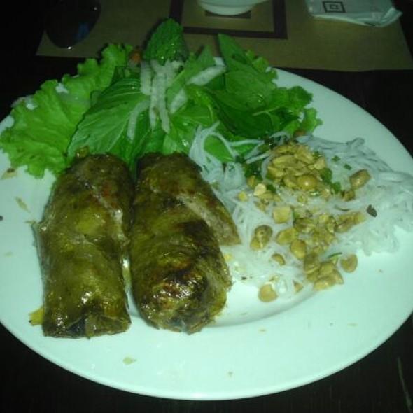 Fried spring rolls @ Nha Hang Ngon