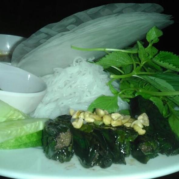 Beef In Betel Leaves @ Nha Hang Ngon