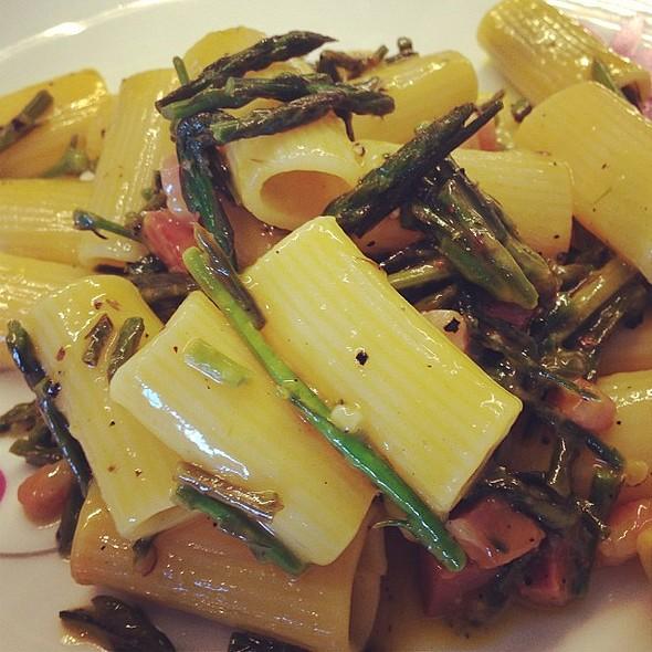 Carbonara di asparagina @ Un cuoco per casa