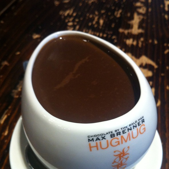 Italian Thick Hot Dark Chocolate @ Max Brenner