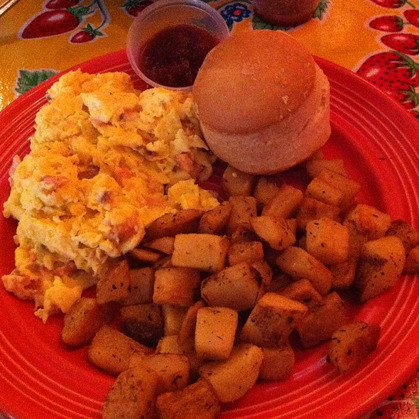 Smoked Salmon Scramble @ Flying Biscuit Cafe The