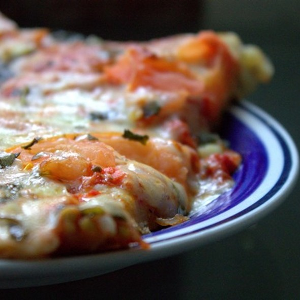Margherita Pizza @ Atlantic Pizza House
