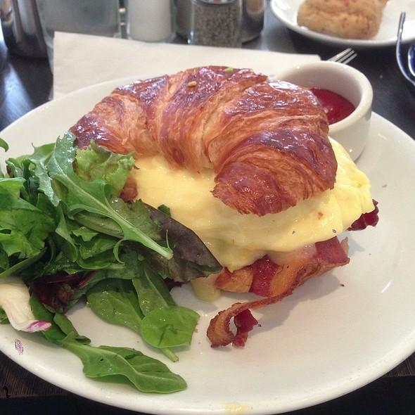 Croissant Breakfast Sandwhich @ Cafeteria